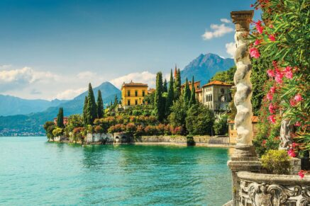 The Lecco Branch of Como Lake