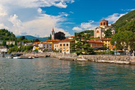 Lombardy Coast of Maggiore Lake