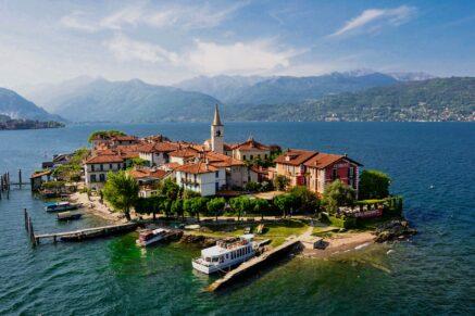 Piedmont Coast of Maggiore Lake