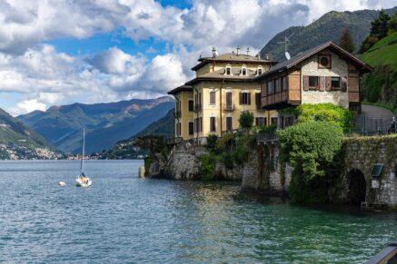 The Larian Triangle of Como Lake
