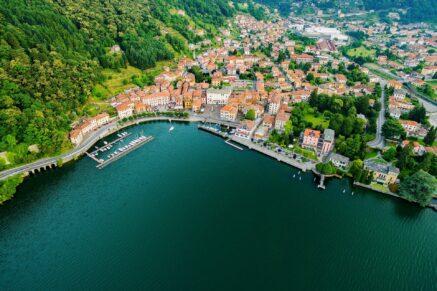The Upper Lake of Como Lake